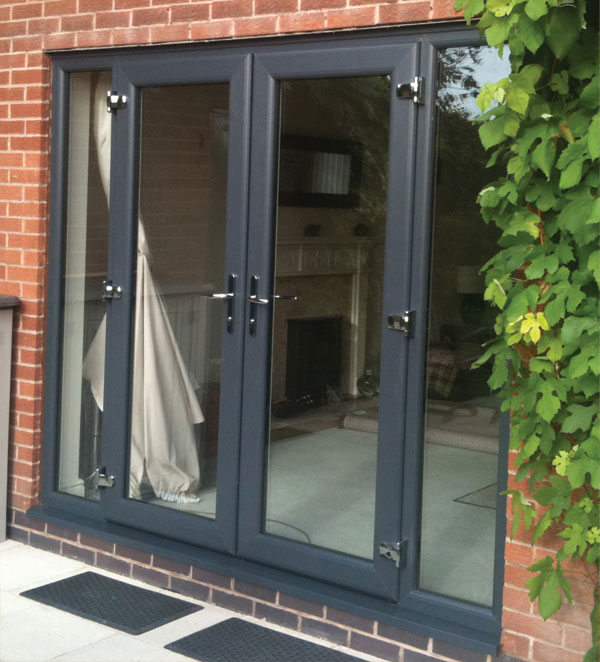 Southgate windows trade aluminium french doors for Aluminum french doors