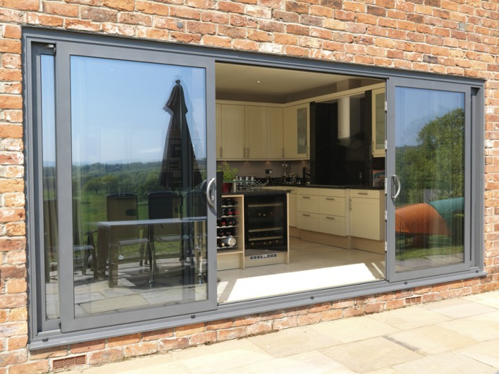 Southgate Windows Trade Aluminium Patio Doors Bridgwater Bristol
