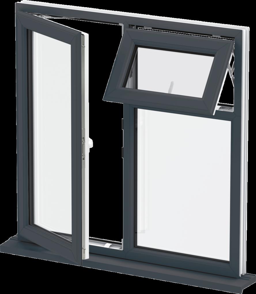 Black Casement Windows : Southgate windows trade upvc casement bridgwater