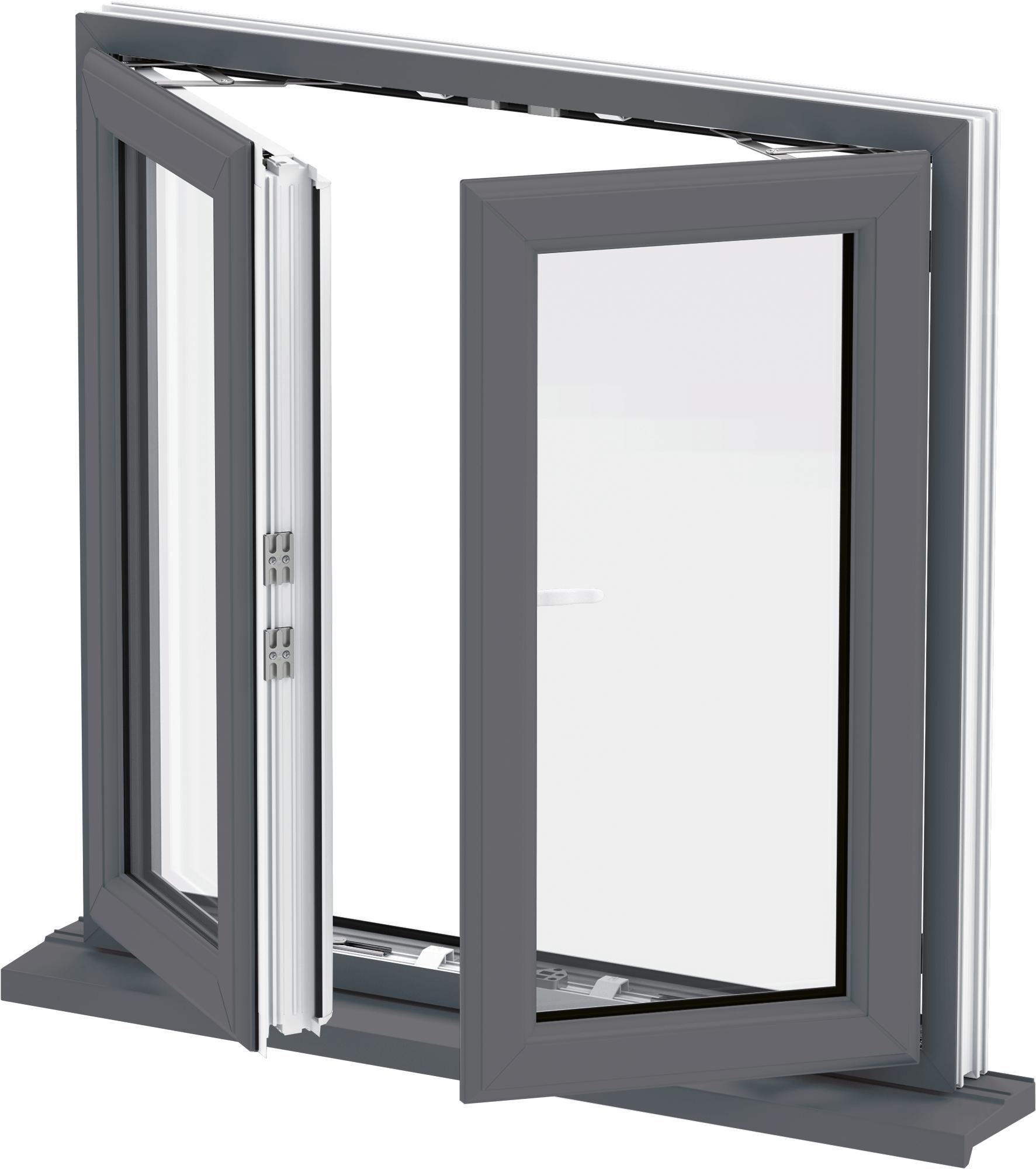 French casement windows - Upvc French Casement Windows
