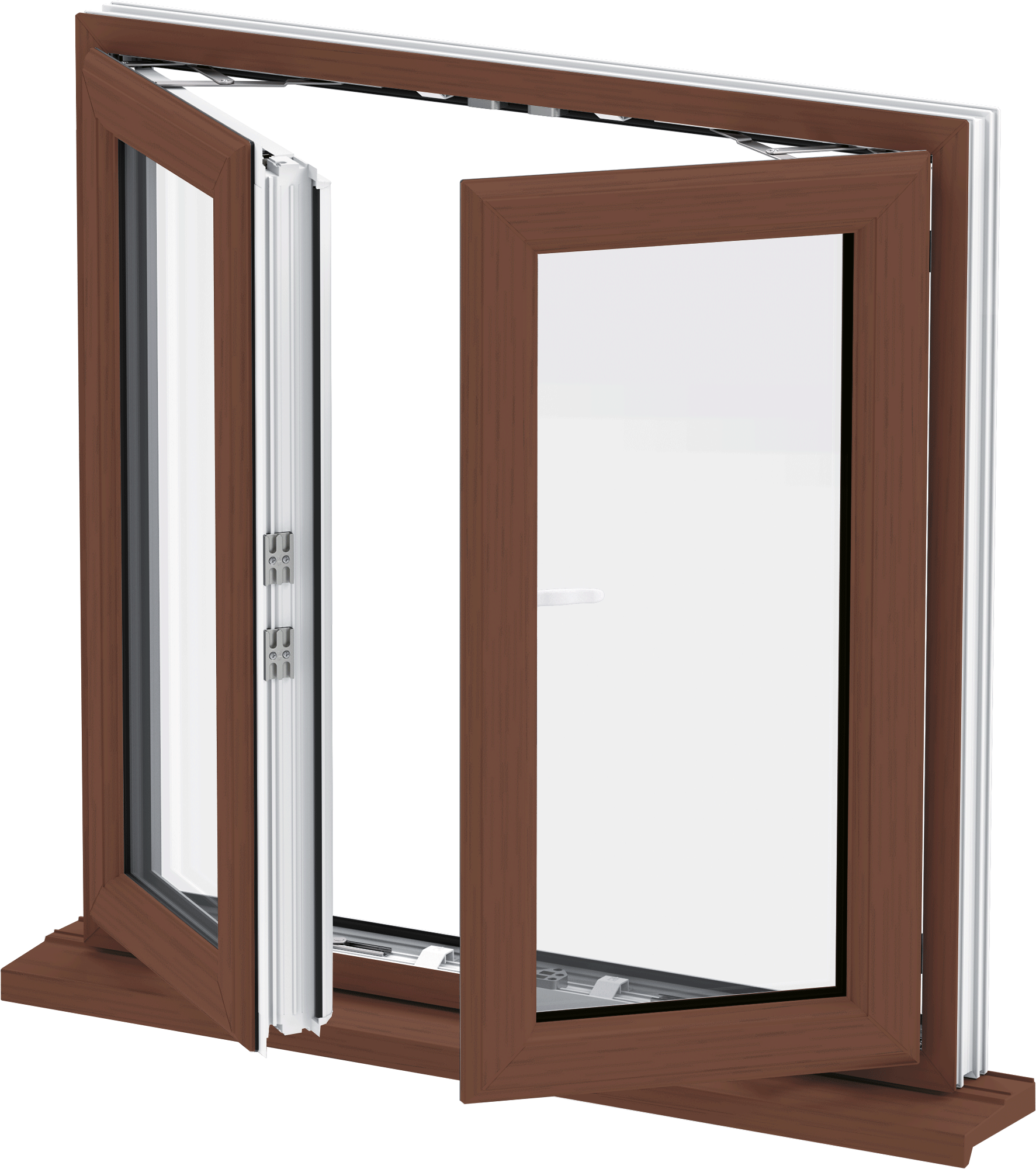 French Casement Windows : Southgate windows trade upvc french bridgwater