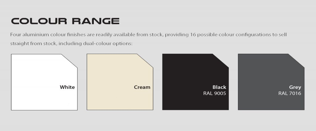 Warmcore Bi-Folding Door Colours Somerset