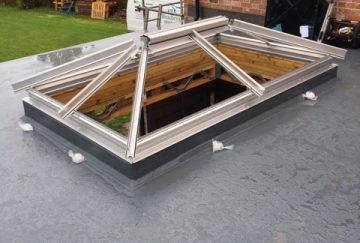 Roof Lantern Installation in Somerset