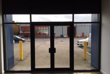 Commercial Aluminium Doors - Internal