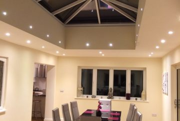 Lantern Roof with Skylights Somerset