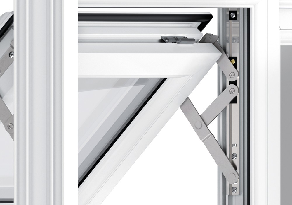 Liniar uPVC Profile Hinges, Somerset