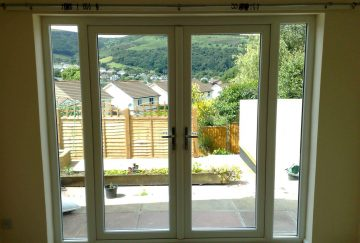 uPVC French Doors - Internal