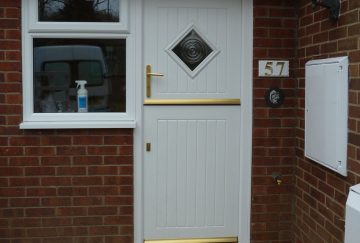 uPVC Liniar Stable Doors, Somerset