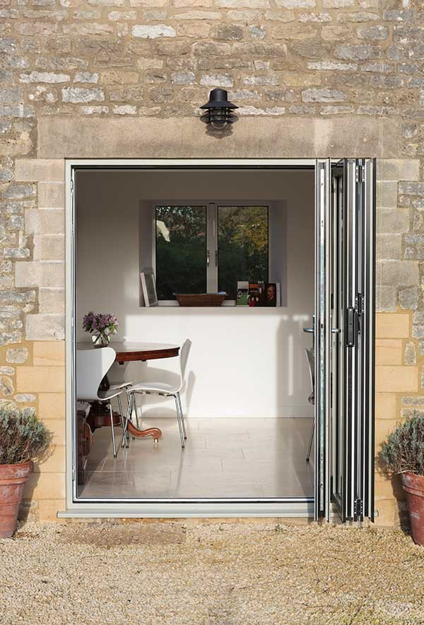 SMART aluminium folding doors, Somerset