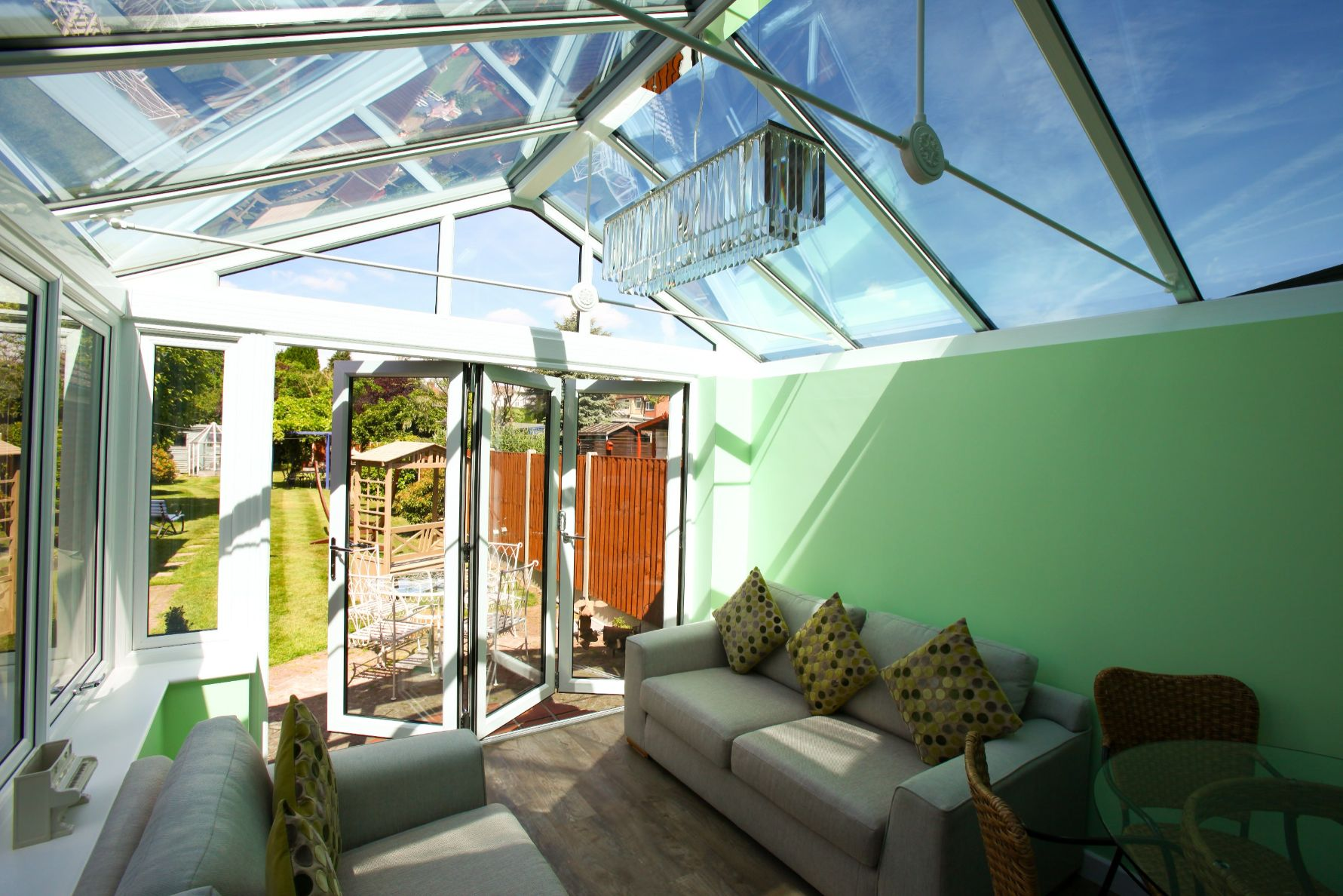 liniar conservatory roofs somerset