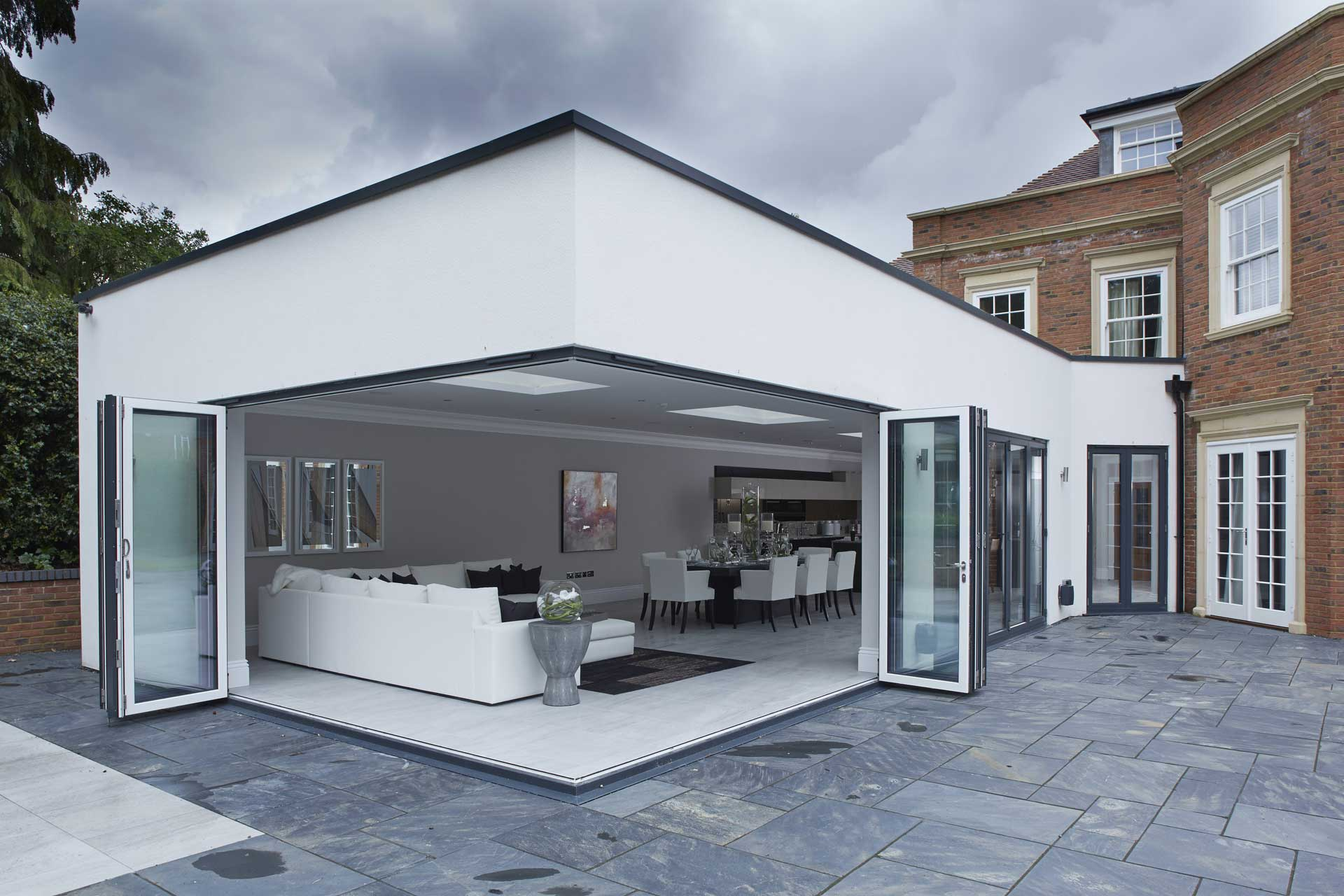 Aluminium Bifolds in Bridgwater