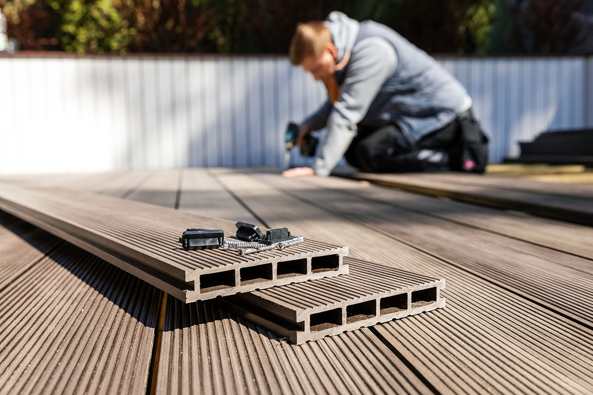 garden decking bridgwater