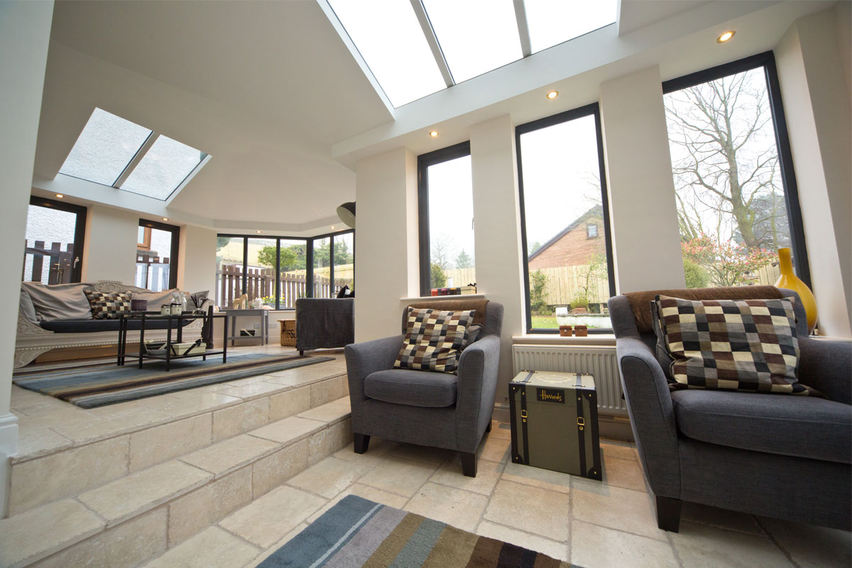 Ultraframe solid conservatory roof somerset